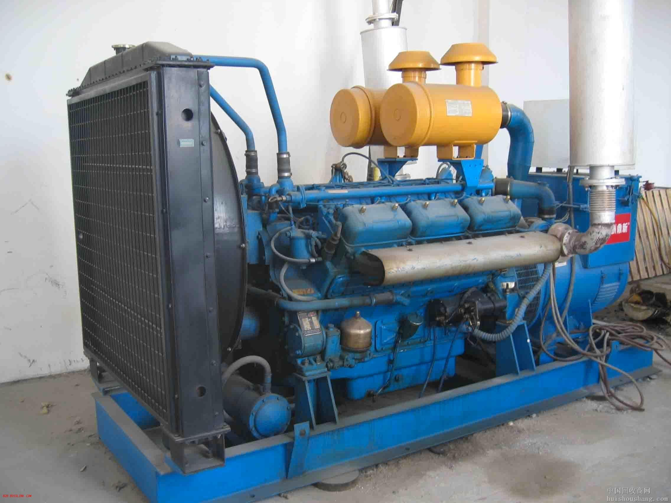 金华蓝色二手发电机出售