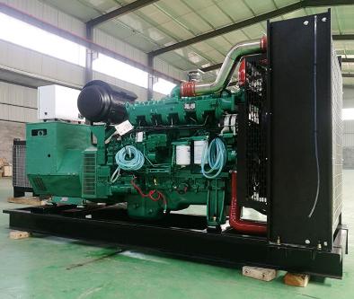 金华瓯海县泰豪500kw大型柴油发电机组