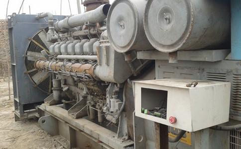 金华二手柴油发电机故障处理措施