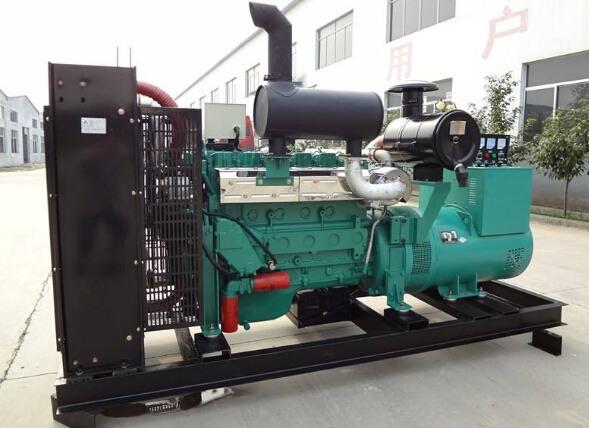 金华兰溪二手潍柴400kw大型柴油发电机组