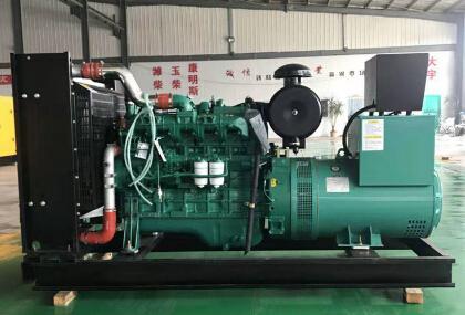 金华兰溪二手潍柴150kw大型柴油发电机组