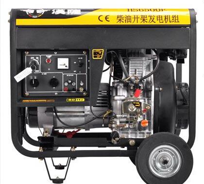 金华兰溪二手上柴5kw小型柴油发电机